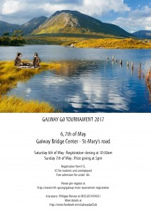 Flyer for Galway Tournament 2017